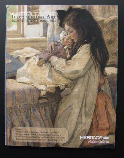 Illustration Art Auction Catalog Jessie Willcox Smith Pulp Elvgren Pin
