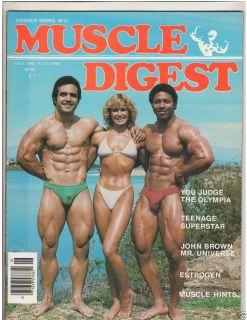 Bodybuilding fitness mag Carlo Casas w Jesse Gautreau poster 7 82