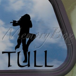 Jethro Tull Decal Car Truck Bumper Window Sticker