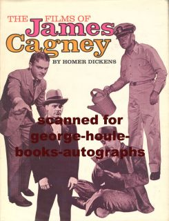 Boldly signed and inscribed by James Cagney in black ink toauthor Roy