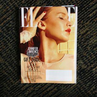Jennifer Lawrence from The Hunger Games Elle Magazine
