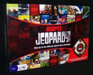 New ESPN Jeopardy Electronic Sports Quiz Game Toy Sports Edition 1000