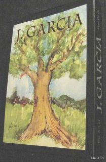 JERRY GARCIA GRATEFUL DEAD ART TREES CARDS tie oak artwork note