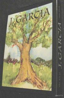 JERRY GARCIA GRATEFUL DEAD ART TREES CARDS tie oak artwork note