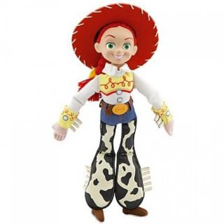 Disney Toy Story Cowgirl 10 Plush Jessie Doll with Plastic Face   NEW