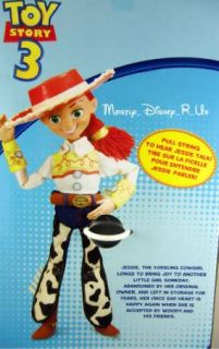 New Disney Parks Toy Story Talking Jessie Doll Figure