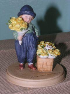 Avon 1986 Jessie Willcox Smith Collection Figurine Easter Springtime