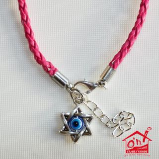 Evil Eye Star of David Religious Friendship Bracelet Wristband