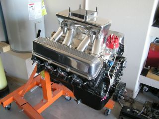 Ford 429 Super Cobra Jet Engine