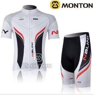 New White Nalini Team Cycling Bike Short Sleeve Jersey Shorts
