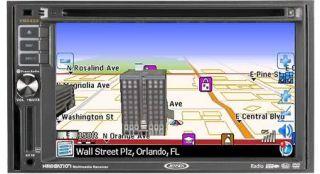 Jensen VM9424 CD  DVD USB iPod iPhone and Navigation