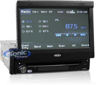 Jensen VM9115 In Dash 7 Touchscreen CD/DVD/ Car Receiver w/ USB