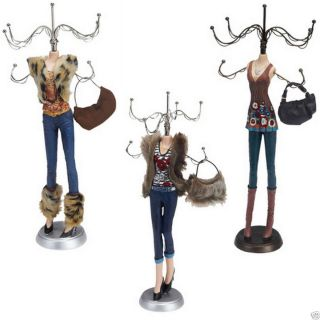 Women Jewellery Jewelry Stand 15 Holder Earring Necklace Display Tree