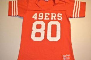 Vintage No Name Jerry Rice San Francisco 49ers Jersey T Shirt T Shirt