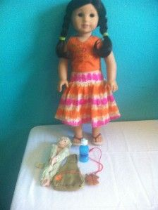 Retired American Girl of The Year Doll Jess
