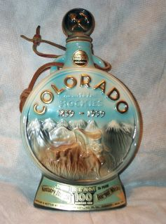 Jim Beam Colorado State Whiskey Decanter Bottle