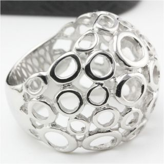 Womens Stainless Steel Ring Fashion Jewelry D033 Siz 6 5 8 9 10