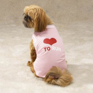 Casual Canine Love to Run Jersey Dog Apparel XS s M
