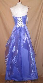 Jessica McClintock Lavender Satin Wings Dress 13