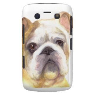 Colore Pencil Bulldog for Blackberry Curve Blackberry Bold Case