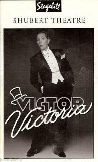 Julie Andrews VICTOR / VICTORIA Tony Roberts 1995 Chicago Tryout