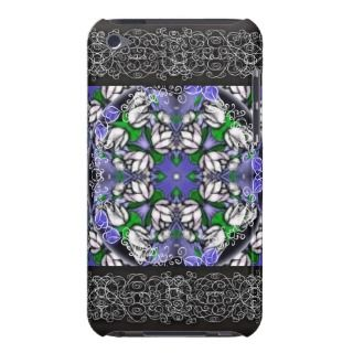 Lotus Pond Tile iPod Touch Covers