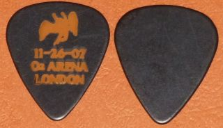 LED ZEPPELIN JIMMY PAGE GUITAR PICK PLECTRUM 2007 O2 ARENA REUNION