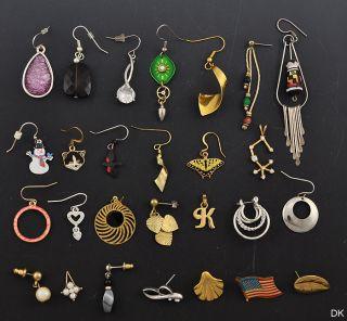 Jewelry Single Earrings Pendants American Flag Lapel Pin