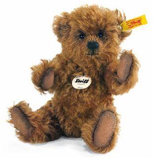 Steiff Jona Teddy Bear Brown EAN 001048 Mohair