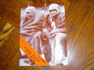 1986 Louis Rich Jim Brown Bobby Mitchell Cleveland Browns NR MT