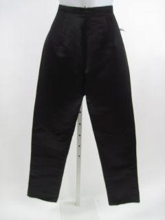 Jill Stuart Black Satin Dress Pants Slacks Sz 10