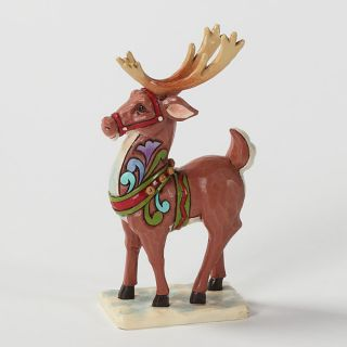 Jim Shore Heartwood Creek 2012 Mini Christmas Reindeer Holiday