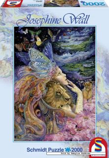 picture of Schmidt 2000 pieces jigsaw puzzle Josephine Wall   Heart
