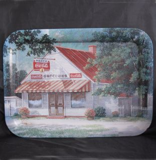Cola Tray Metal The Old Country Store Artist Jim Harrison 2001