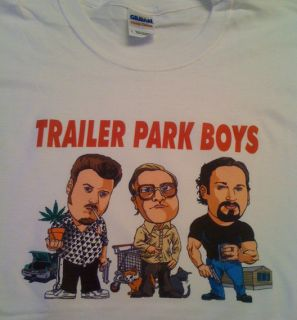 Park Boys T Shirt Bubbles Ricky Julian Jim Lahey J Roc TV