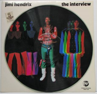 Jimi Hendrix The Interview Picture Disc 12 Vinyl