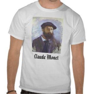 Self Portrait   1886   Claude Monet, Claude Monet Shirt