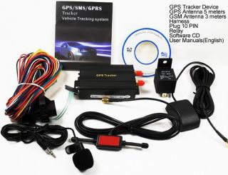 Real Time GSM GPS GPRS Tracker Vehicle Tracking TK103 Google Maps Link