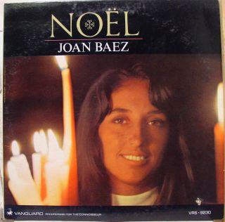 Joan Baez Noel LP VG VRS 9230 Vinyl 1966 Record