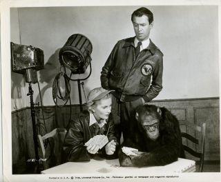 James Stewart Joan Fontaine RARE Orig Still C11