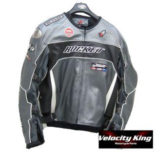Joe Rocket Speedmaster 5 0 Leather Jacket Gun Metal 48