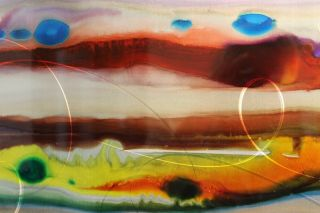 Abstract Modern Painting Wall Art Sculpture by Jon Allen Jo 3