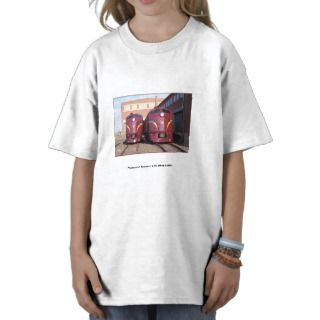 Pennsylvania Railroad E 8a,s 5809 and 5811 Kids T Shirt