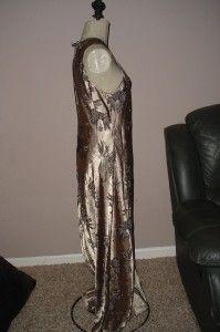 Jodi Michaels Shiny Gold Black Dress Sleeveless 12 14 Stunning Look