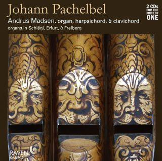 Johann Pachelbel Pipe Organ and Other Keyboard Works, 2 CDs, Andrus