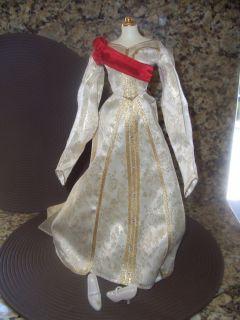 FRANKLIN MINT CZARINA ALEXANDRA PRINCESS DOLL DRESS GOWN ENSEMBLE for