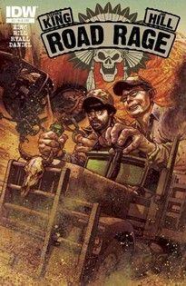 Road Rage Throttle 2 Joe Hill Stephen King RI B 1 25 Tony Harris