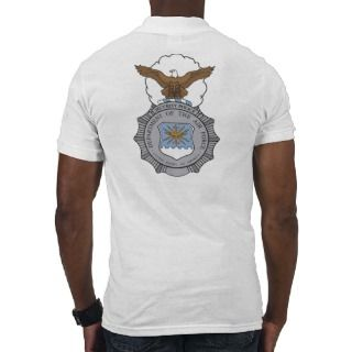 USAF Security Police Badge Polo Shirt