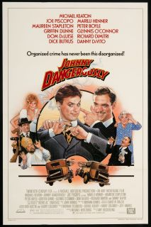 Johnny Dangerously 1984 Original U s One Sheet Movie Poster