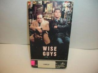 Wise Guys VHS Movie Funny Mob Comedy Joe Piscopo Danny DeVito